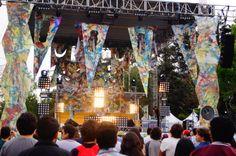 #ISenNrmal: Foto de la presentación de Trillones en el #FestivalNrmal Por: Marcos Zarate Martinez