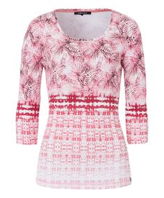 T-shirtb pattern mix - tea rose