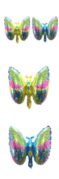 [Visit to Buy] QGQYGAVJ mini butterfly Foil Balloons Classic toys wedding balloons Party Decorations air balloons globos Kids Inflatable Toys #Advertisement