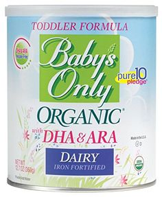 Baby's Only Organic Dairy Toddler Formula wuth DHA & ARA, 12.7 oz (Pack of 6)  http://www.babystoreshop.com/babys-only-organic-dairy-toddler-formula-wuth-dha-ara-12-7-oz-pack-of-6-3/