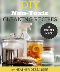 DIY Cleaning Recipes is part of the VGN End of Summer ebook Bundle.  30 ebooks for $39!