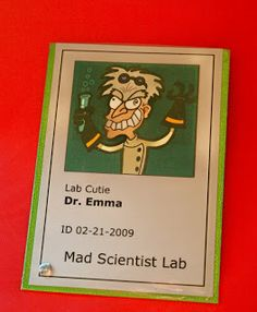 Party Planning Mom: Mad Scientist Party Decorations Part 1