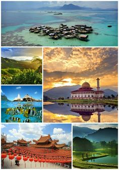 Malaysia because of the serenity of the people and the temples and the beautiful beaches