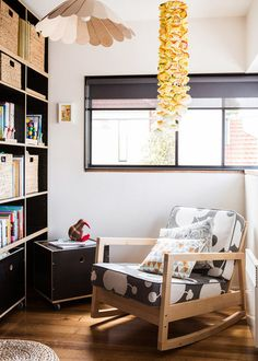 Reading Nook + Hanging Objects