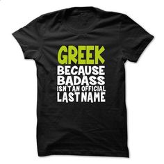 (BadAss001) GREEK - #tee style #mens hoodie. SIMILAR ITEMS => https://www.sunfrog.com/Names/BadAss001-GREEK-wudfvitjrn.html?68278