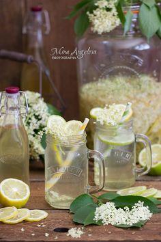 Angellove's Cooking: Домашен сок от бъз / Homemade Elderflower Cordial