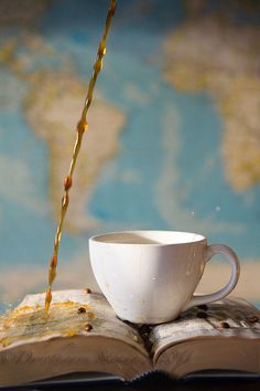 TooEarlyintheMorning Coffee conceptual fine art by RightOnStrange, #fPOE