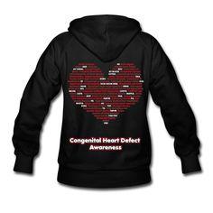 Congenital Heart Defect Awareness Hoodies Hoodie | Spreadshirt | ID: 9075377