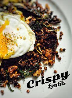 Crispy Syrian Lentils  #nikosuvrohlik