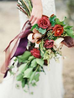 Осенняя свадьба: 50 букетов невесты - The-wedding.ru