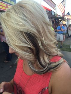 Who wants a little edge with a little blonde??