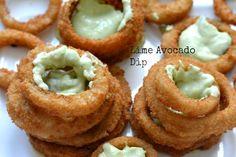 Lime Avocado Dip! Easy and delicious to make!!  #GameTimeGrub #ad