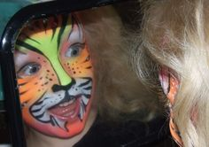 Facepainting fun - party idea?