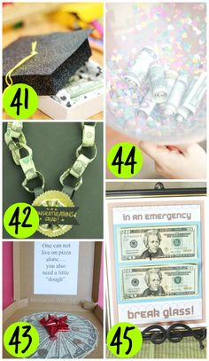 How to Gift Money for a Graduation Gift