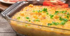 Creamy Savory Corn Pudding