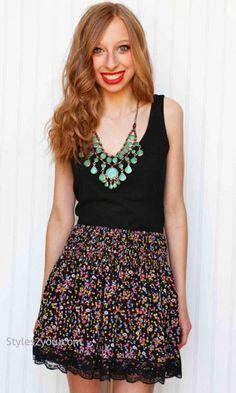 Swoon Clothing Sarah Ladies Skirt
