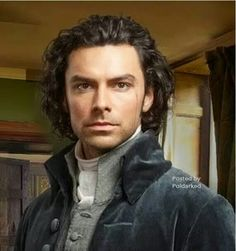 New picture from Aidan Turner as Ross Poldark - can't wait for this
