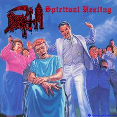 Death - Spiritual Healing animated cover artwork by www.animatedcovers.com #death #powermetal #blackmetal #deathmetal #thrashmetal #heavymetal #metal #animatedcovers #gifs #animatedgifs #gifcovers