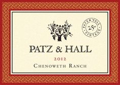 No Actual Genies Were Harmed: Patz and Hall Chenoweth Pinot Noir - Enobytes Wine Online