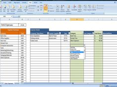 expense tracker business expense tracking overhead expense categories