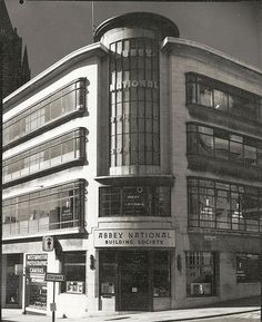 Abbey National Building on the corner of West Street, Brighton. Brighton East Sussex, Brighton Rock, Brighton And Hove, Old Pictures, Old Photos, 1960s Britain, Images Of England, National Building, Bognor Regis