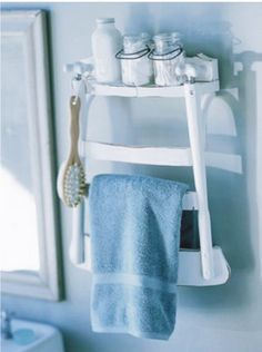 Towel Rack Ideas for Bathroom   Design & DIY Magazine