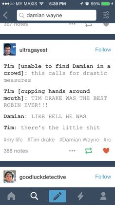 That is the fastest way to find Damian,but won't people find out his identity?