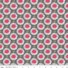 The Cottage Garden by The Quilted Fish For Riley Blake Designs C4223-Gray 1 Yard