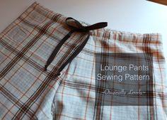 Lounge Pants Sewing Pattern | Originally Lovely