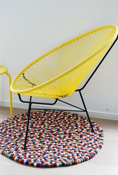 teen room furniture   color & yellow