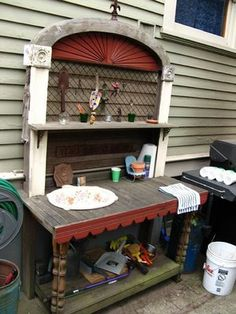 Potting Bench With Sink | Homewood Blogpatch: Fabulous Portland Gardens