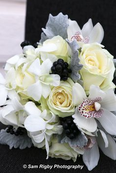 hand tied boquet by Karena Floral