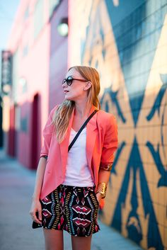 eatsleepwear, cynthia-vincent, blazer, outfit