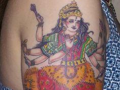 Deity - Durga Tattoo Design