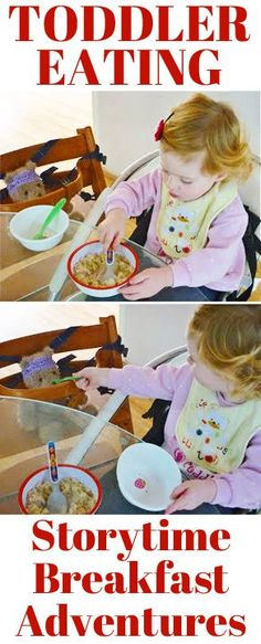 Toddler Eating: Storytime Breakfast Adventures (and other ideas for encouraging toddlers to eat at breakfast time)