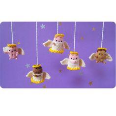 Teeny-Tiny Angels Pattern