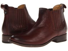Frye Pippa Chelsea Cognac Soft Vintage Leather - Zappos.com Free Shipping BOTH Ways