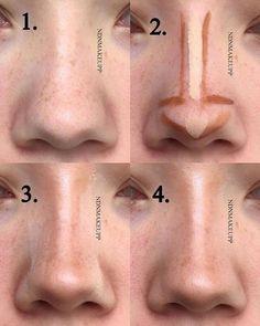 "4,652 likerklikk, 43 kommentarer – Lada Aliyeva/Beauty editor (@tobebeautyface) på Instagram: ""How to contour your nosevia @ndnmakeupp"""