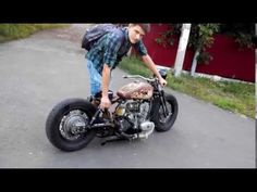 Ural bobber ( Rebel Yell ) - YouTube