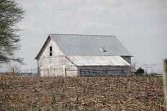 Anthony Cornett's photo of a Missouri barn taken on Easter Day 2014.