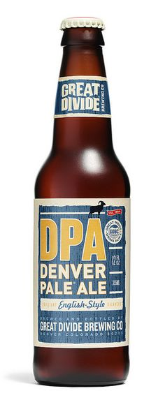 Denver Pale Ale - Great Divide Brewing Company - very well balanced pale with a strong malt profile and some sweet and bitter hops.