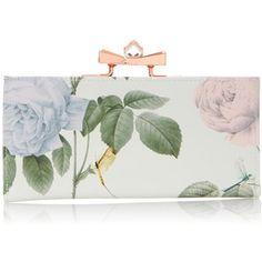 Ted Baker Maryah Distinguish Rose Print Matinee Wallet