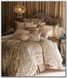 Elegant Luxury Bedding Sets Pictures 2 - Home Interior Design Ideas Dream Bedroom, Home Bedroom, Bedroom Decor, Master Bedroom, Master Suite, Shabby Bedroom, Shabby Cottage, Blush Bedroom, Bedroom Neutral