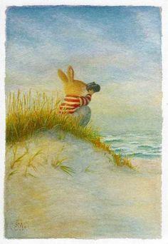 Susan Wheeler, Bunny Painting, Painting & Drawing, Beatrix Potter, Rabbit Art, Bunny Art, Cute Illustration, Illustration Animals, Whimsical Art