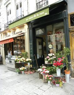 The Flower Shops of Paris