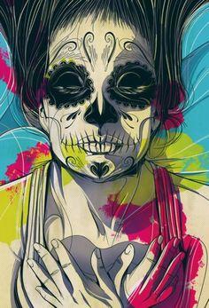 por César Moreno http://www.blckdmnds.com/ilustracoes-modernistas-de-cesar-moreno/