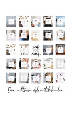 Time instead of stuff - the careful advent calendar - For more inner peace, serenity and joy in the run-up to Christmas. Christmas Wrapping, Christmas Gifts, Xmas, Cute Gifts, Diy Gifts, Photo Calendar, Cheap Gifts, Grandma Gifts, Special Gifts