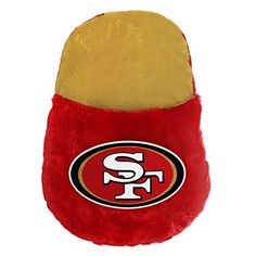 6c27907a30a NFL San Francisco 49ers Feetoes Foot Pillow One Size Team Color    Click  image for