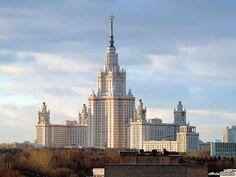 L'université de Moscou...