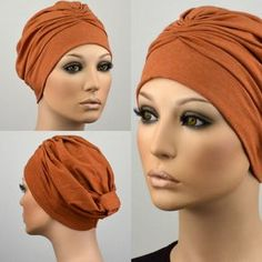 Mode Turban, Turban Hat, Turban Style, Fascinator Hats, Headpiece, Bandana Head Wraps, Hijab Style Tutorial, Scarf Knots, Haircut For Older Women